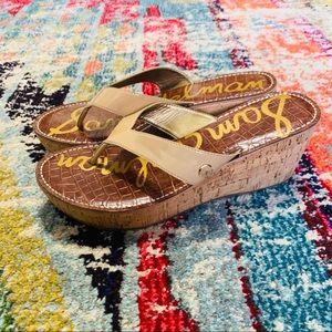 Sam Edelman Romy Wedge flip flops